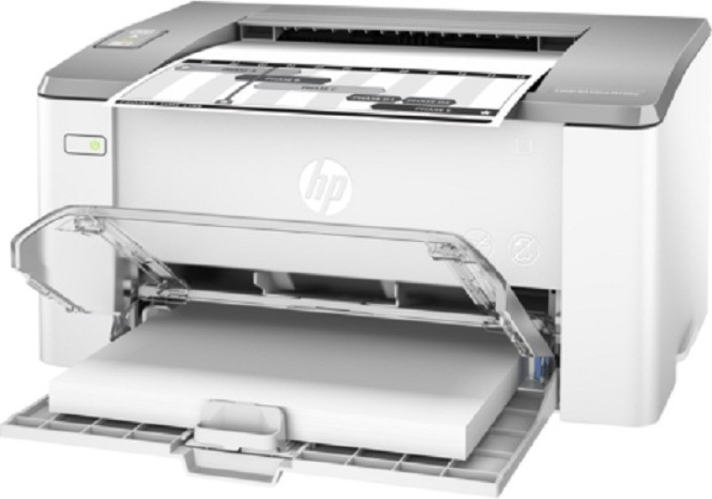 HP LaserJet Ultra M106w Printer (G3Q39A) Single Function Printer(White, Toner Cartridge) image