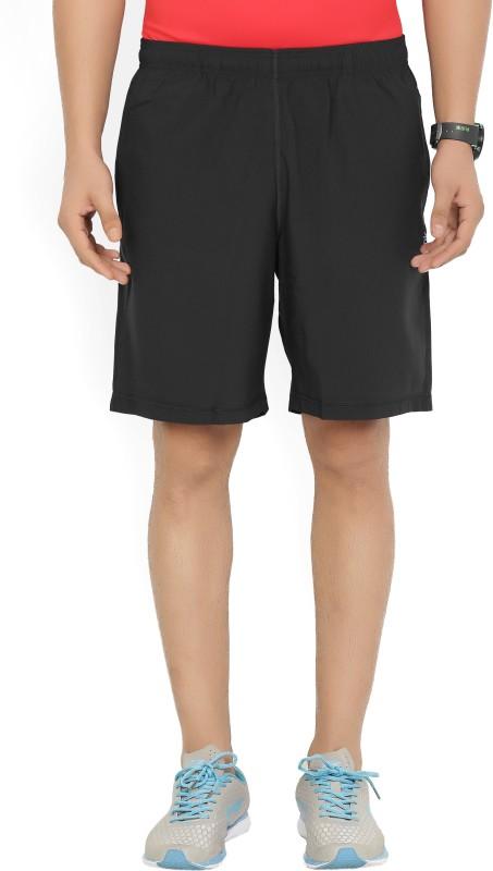 REEBOK Solid Mens Black Sports Shorts