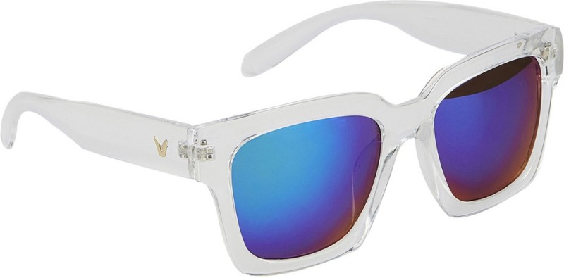 stylefiestafashion Rectangular Sunglasses(Blue)