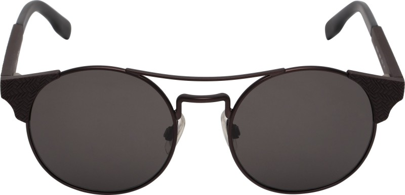 Boss Orange Round Sunglasses(Brown)