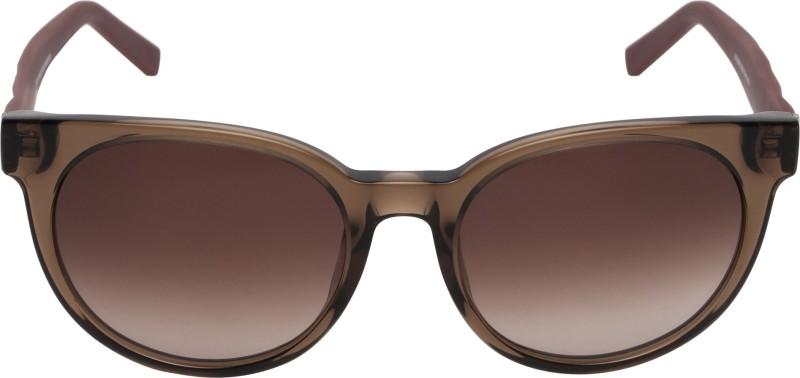 Boss Orange Round Sunglasses(Brown)
