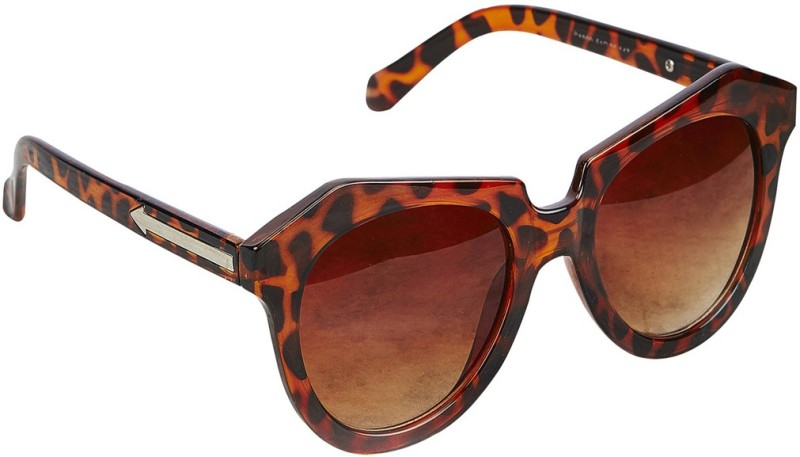 stylefiestafashion Cat-eye Sunglasses(Brown)