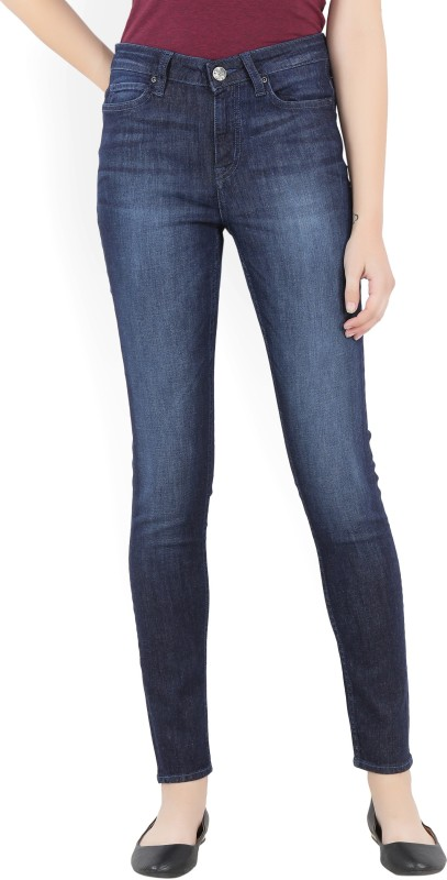 Lee Slim Women's Dark Blue Jeans