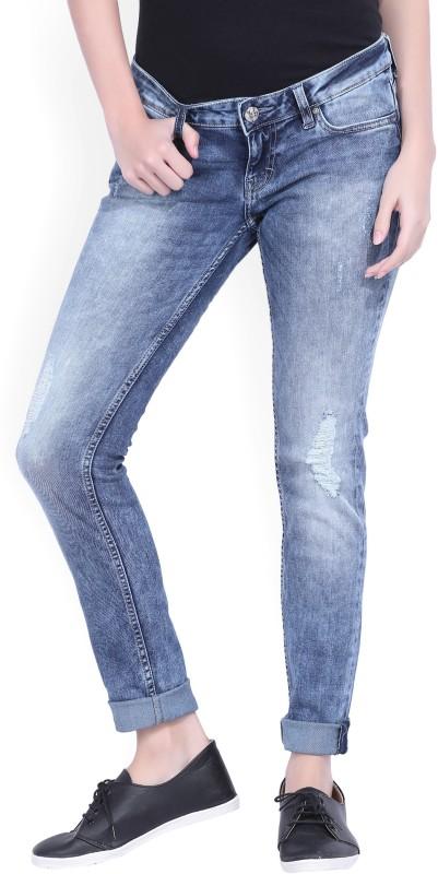 Lee Slim Womens Light Blue Jeans