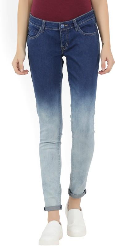 Lee Womens Dark Blue Jeans