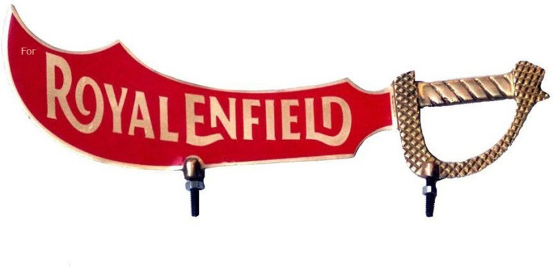 Almos Front Mud Guard For Royal Enfield Classic NA(Red)