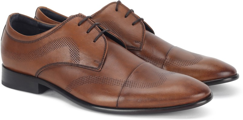 Hush Puppies By Bata GEN_LASER Lace Up For Men(Tan)