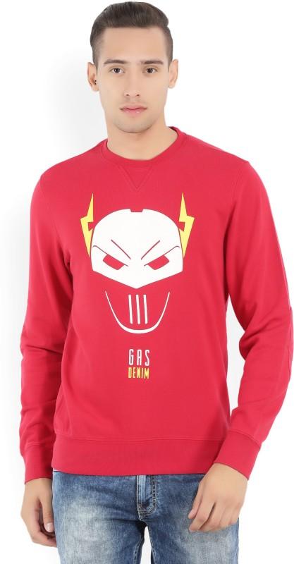 GAS Full Sleeve Printed Mens Sweatshirt