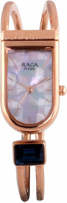 Titan 95063WM01F Raga Espana Watch - For Women