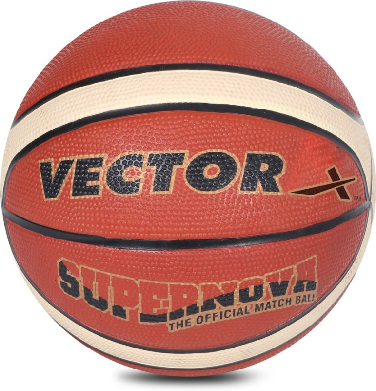 Vector X Supernova Basketball - Size: 7(Pack of 1, Orange)