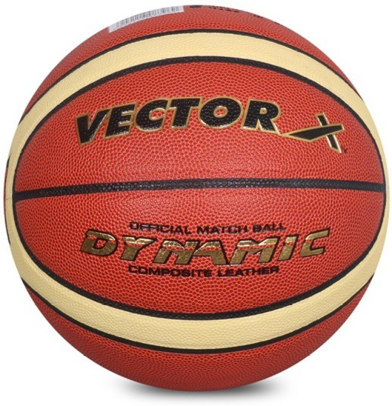 Vector X Dynamic Basketball - Size: 7(Pack of 1, Orange)