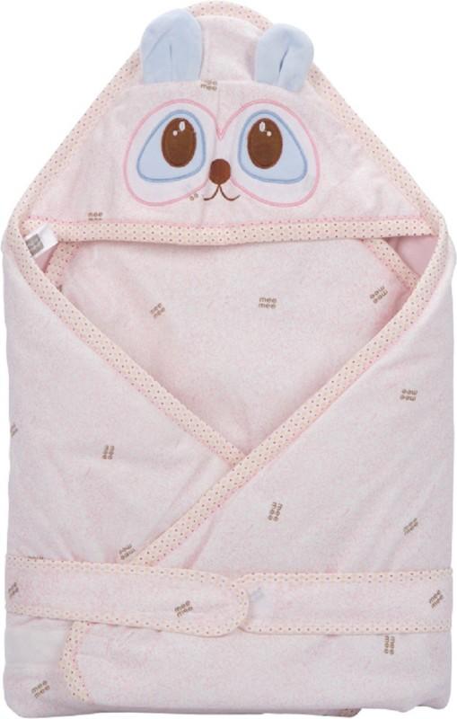 MeeMee Plain Single Blanket Pink(1 blanket)
