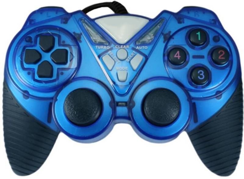 OYD QHM7487-2V USB gamepad 991  Gamepad(Blue, For PC)