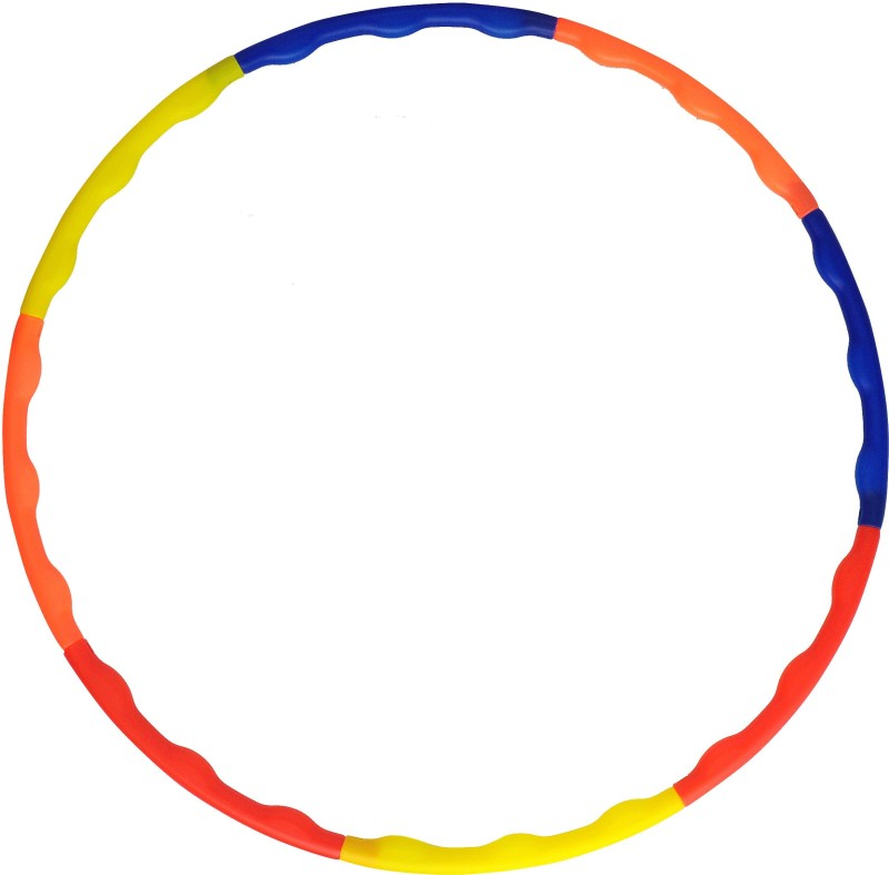 Grazzo Adults Fitness Collapsible 8 pieces Hula Hoop(Diameter - 100 cm)