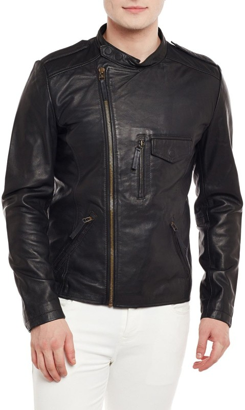Bare Skin Full Sleeve Solid Mens Jacket