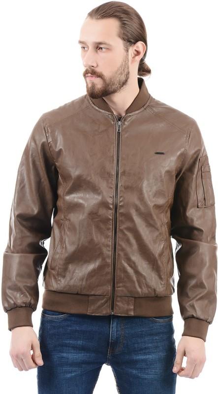 Flying Machine Full Sleeve Solid Men Jacket
