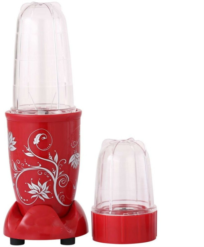 Shrih SHF-1337 400 Juicer Mixer Grinder(Red, 2 Jars)
