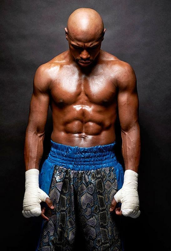 mahalaxmi Floyd Mayweather, Jr. Boxing attractive Wallpapers poster Print Poster on LARGE PRINT 36X24 INCHES Photographic Paper(36 inch X 24 inch, Rolled)