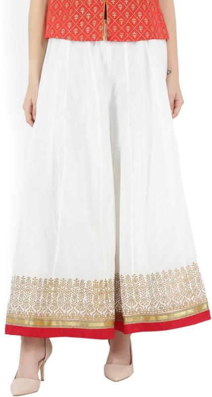 Biba Women White Trousers