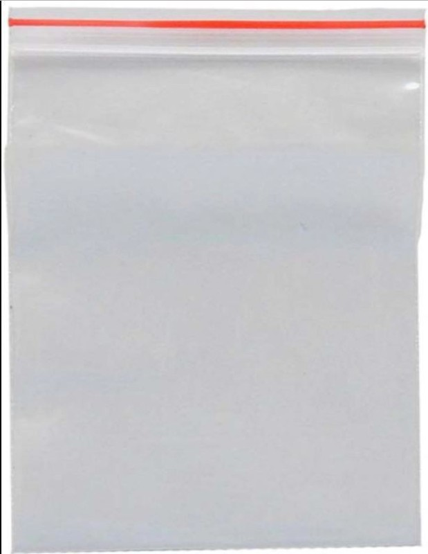 hippo Resealable Plastic Air Tight Pouch(Clear Pack of 300)