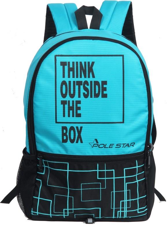 Pole Star HERO 32 L Backpack(Blue, Black)
