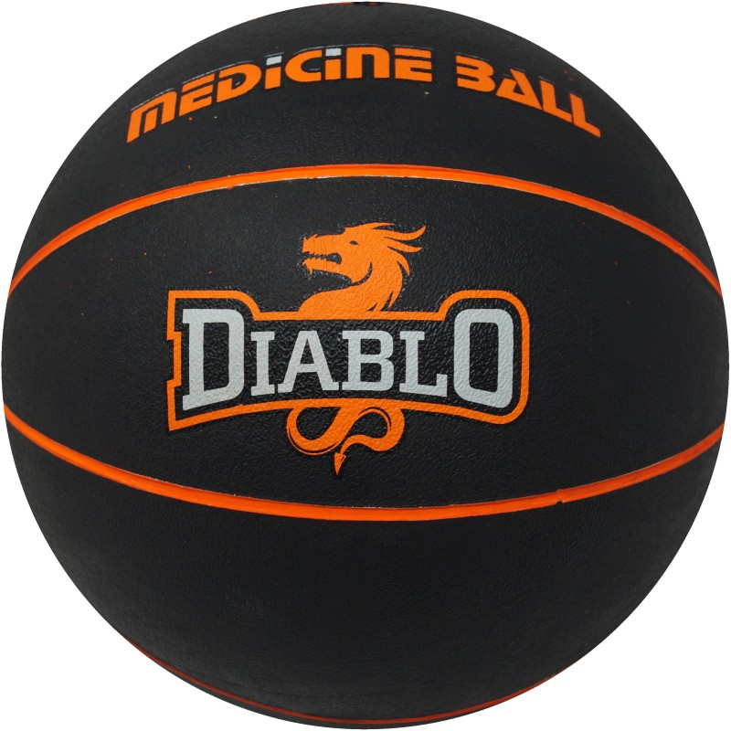 DIABLO STURDY (3 KG) Medicine Ball(Weight:  3 Kg, Orange)