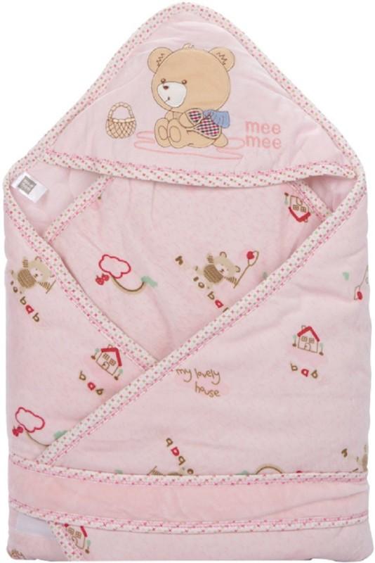 Meemee Printed Single Blanket Pink(Pack of 1)