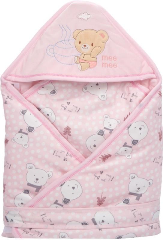 MeeMee Plain Single Blanket Pink(Pack of 1)