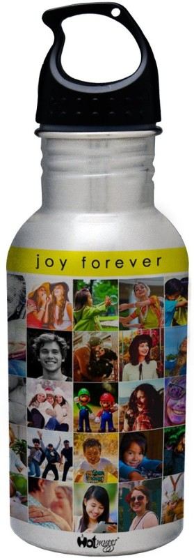 Hot Muggs Joy Forever - Life is Good Collection S.S. Bottle 600 ml Bottle(Pack of 1, Multicolor)