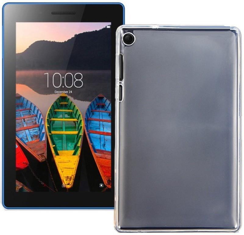 S-Design Back Cover for Lenovo Tab 3 (710L)(Transparent, Rubber)