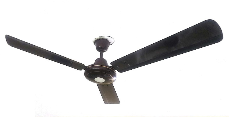 Farm Electronics BLDC Remote LED 3 Blade Ceiling Fan(Brown)