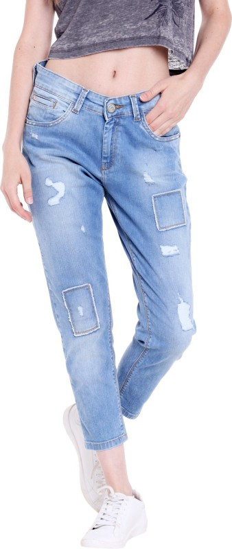 Spykar Regular Women Blue Jeans