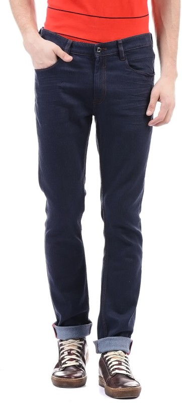 Arrow New York Regular Men Dark Blue Jeans