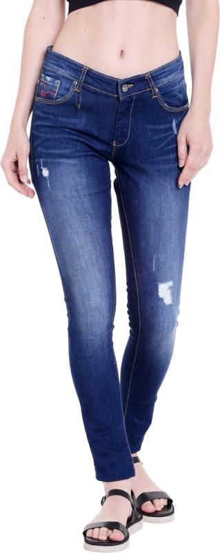 Spykar Skinny Women Blue Jeans