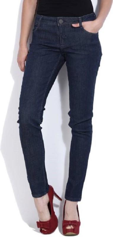 Van Heusen Slim Women Dark Blue Jeans