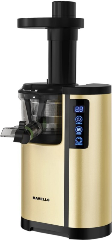Havells Nutrisense 230 W Juicer(Golden and Black, 1 Jar)