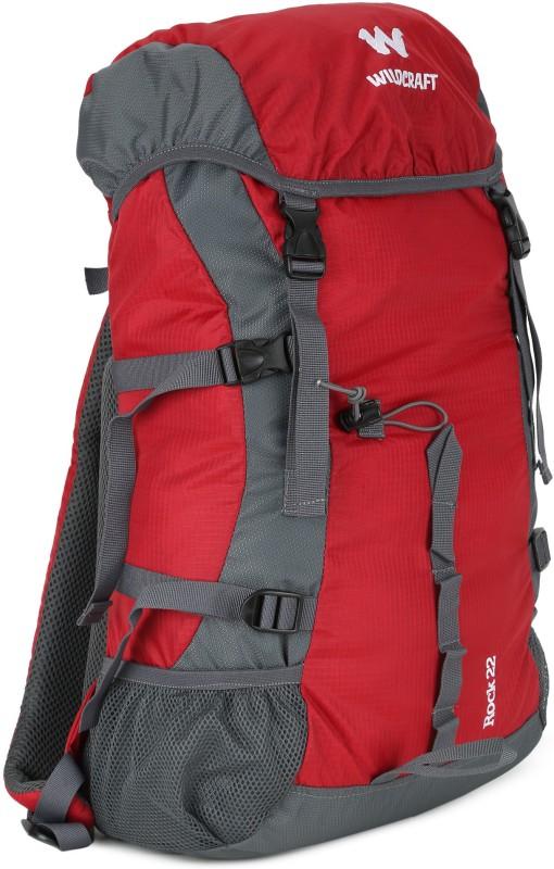 Wildcraft Rock Rucksack - 30 L(Red)