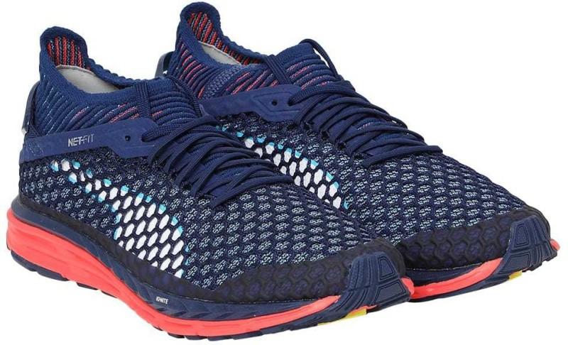 Puma Speed IGNITE NETFIT Running Shoes(Blue) Speed IGNITE NETFIT