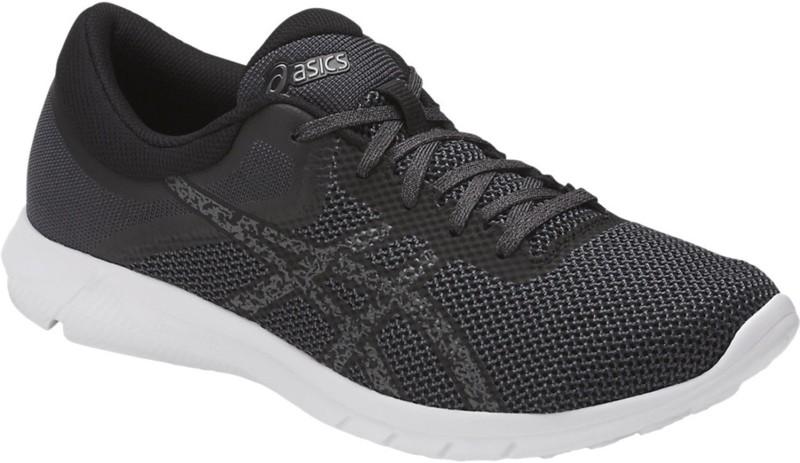 Asics Nitrofuze 2 Running Shoes For Men(Black, Grey, White)