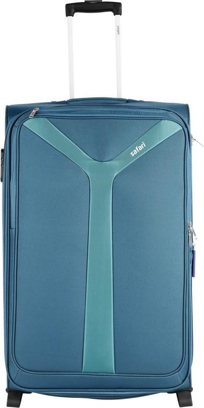 Safari Kayak Expandable Cabin Luggage - 21 inch(Blue)