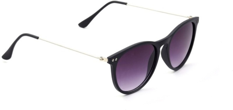 stylefiestafashion Oval Sunglasses(Black)