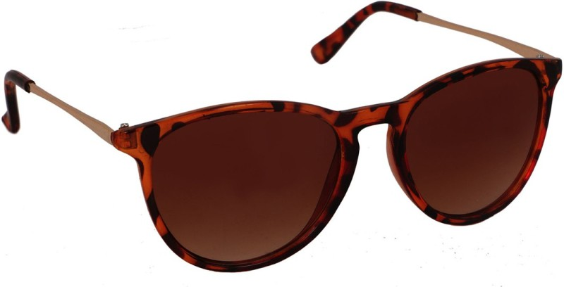 stylefiestafashion Oval Sunglasses(Brown)