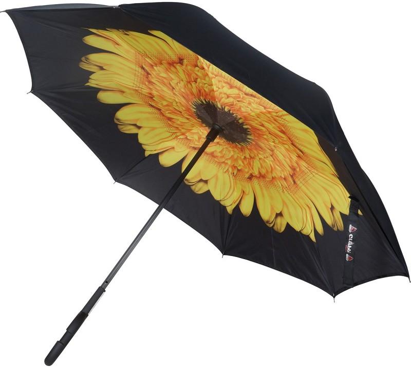 Clubb Clubbrella for Car - The Inverted / Reversible Umbrella(Yellow Purpurea, Yellow, Black)