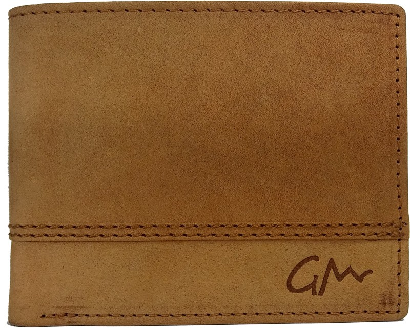Gentleman Boys Tan Artificial Leather Wallet(6 Card Slots)