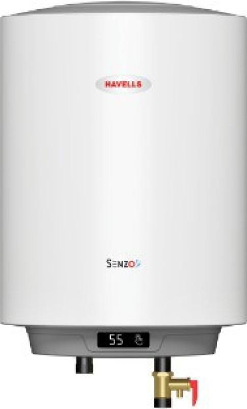 Havells 10 L Storage Water Geyser(White, SENZO 5S)
