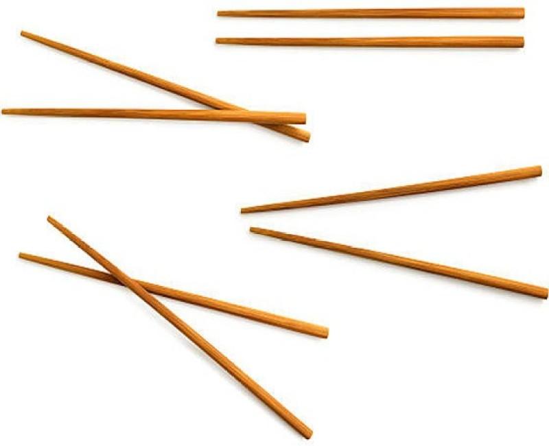 Blue Birds Cooking, Eating Wooden Korean, Chinese, Japanese, Vietnamese Chopstick(Brown Pack of 20)