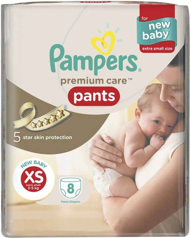 Pampers Premium Care Pants - XS(8 Pieces)