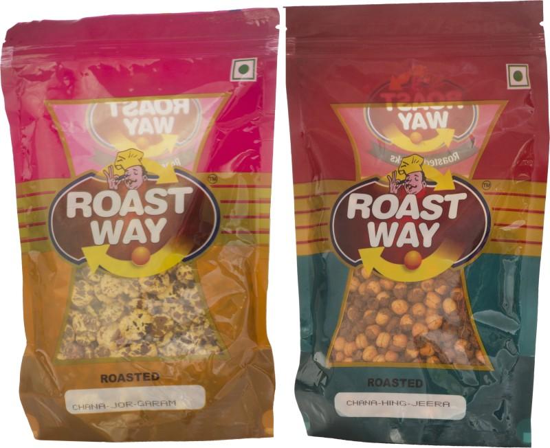Roastway Foods Chana Hing Jeera & Chana Jor Garam Roasted Namkeen Combo