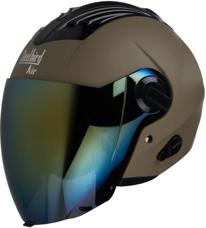 Steelbird AIR SBA-3-Matt Motorbike Helmet(Desert Storm)
