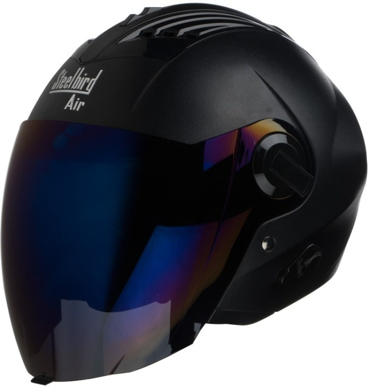 Steelbird AIR SBA-3-Dashing Motorbike Helmet(Black)
